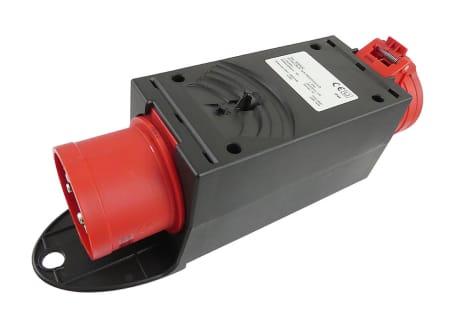 CEE-Adapterstecker 32 A mit Absicherung