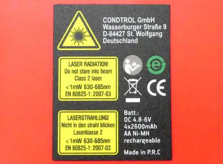 CONDTROL Rotationslaser Auto RotoLaser New Horizontallaser Vertikallaser