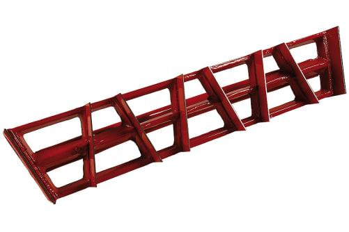Kantenhobel | Alu- Rabot mit 8 Klingen | 450 x 89mm