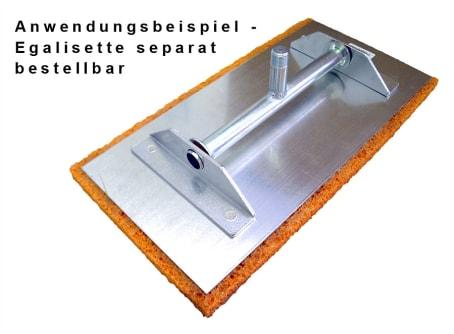 Schwammgummibelag für Egalisette 400 x 200 x 20 mm