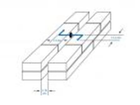 Dübelanker 4,0x300 Welle V4A mit Nylondübel, Schalenabstand max. 150 mm
