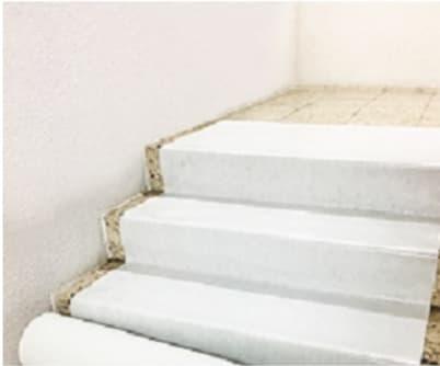 Schutzvlies FLOOR-TEX selbstklebende Folie, ca. 150 g/m², 25 m Rolle