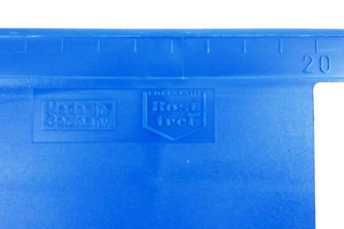 Tapezierschiene, Schneidelineal blau 575 mm