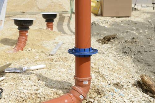 Hauff Mauerkragen KG-FIX für Abwasserleitungen