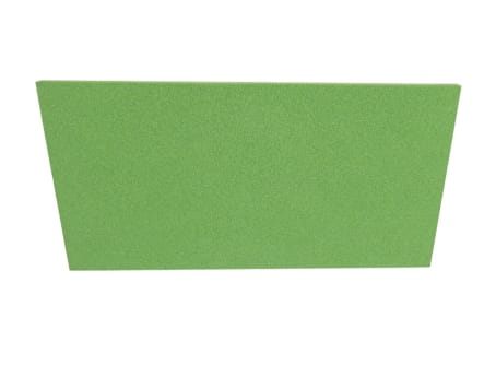 Kunststoff-Reibebrett mit Zellkautschuk-Belag grün, diverse Ausführungen