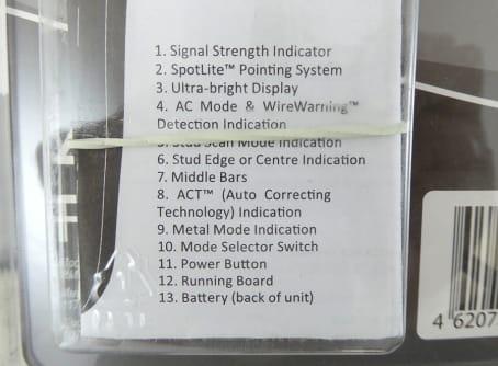 CONDTROL Ortungsgerät Wall Pro für Metall und Holz in Wänden