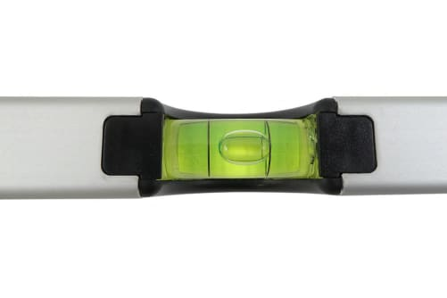 WEISS Profi Wasserwaage mit 2 Libellen und starkem Aluminiumprofil