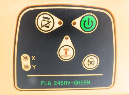 GeoFennel Rotationslaser FLG 245 HV-Green (LC2) + FRG45