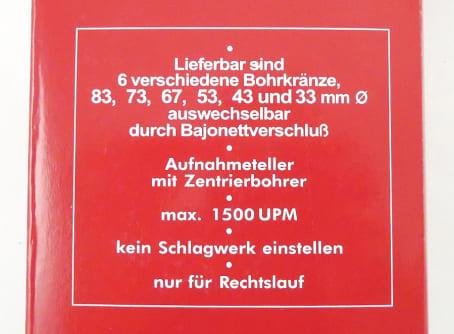 MACH4 HM-Lochbohrer-Set, 6-teilig