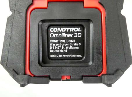 CONDTROL Kreuzlinienlaser Omniliner 3D