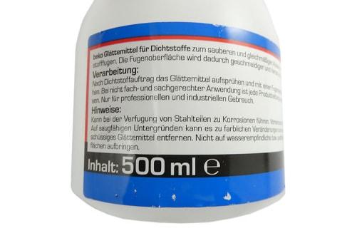 BEKO Glättemittel für Dichtstoffe, gebrauchsfertig, 500 ml Sprühflasche