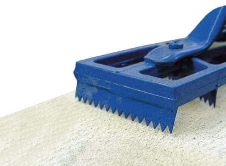 Raspelhobel 460 x 85 mm blau