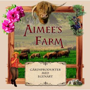 Logo til Aimee's Farm