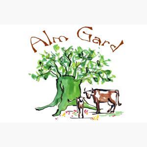 Logo til Alm gard (Helland Gardsprodukter)