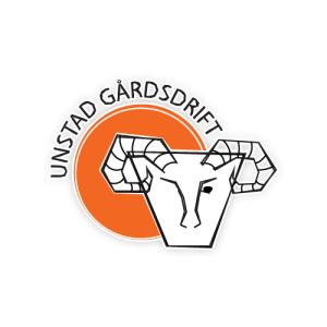 Logo til Unstad Gårdsdrift