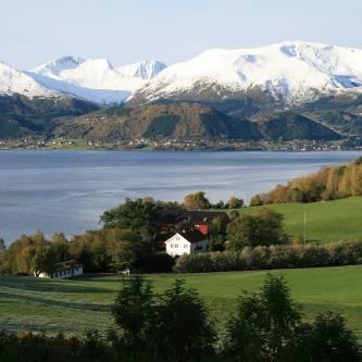 Bilde fra Sunnmøre