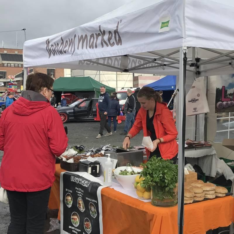 Bilde av Første marked i Lofoten