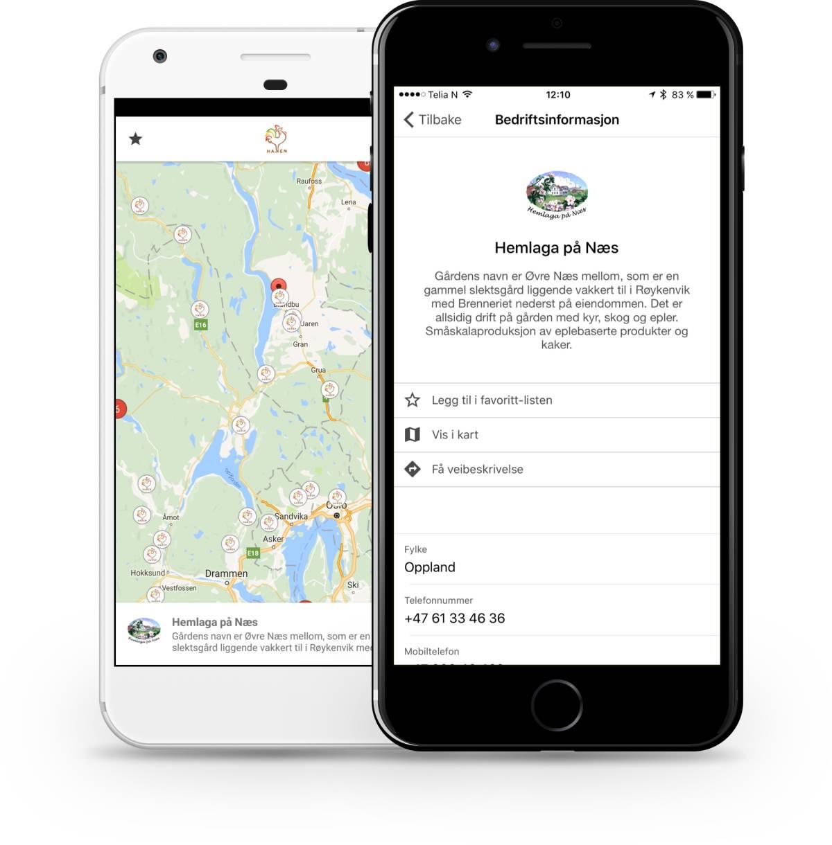 Appen finnes for Android og iOS