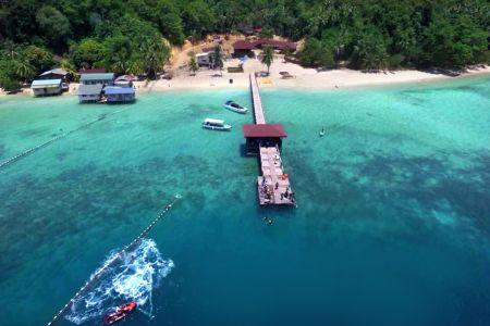 【沙巴最新跳島】斯邦加島 Sepanggar Island 一日遊