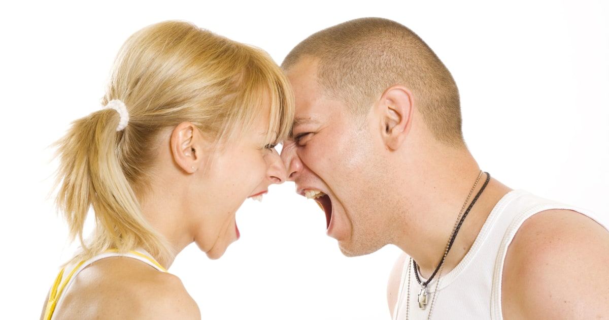 a man and woman under parenting stress