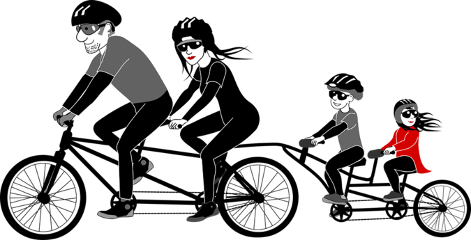 benefits of riding bikes for you and your child