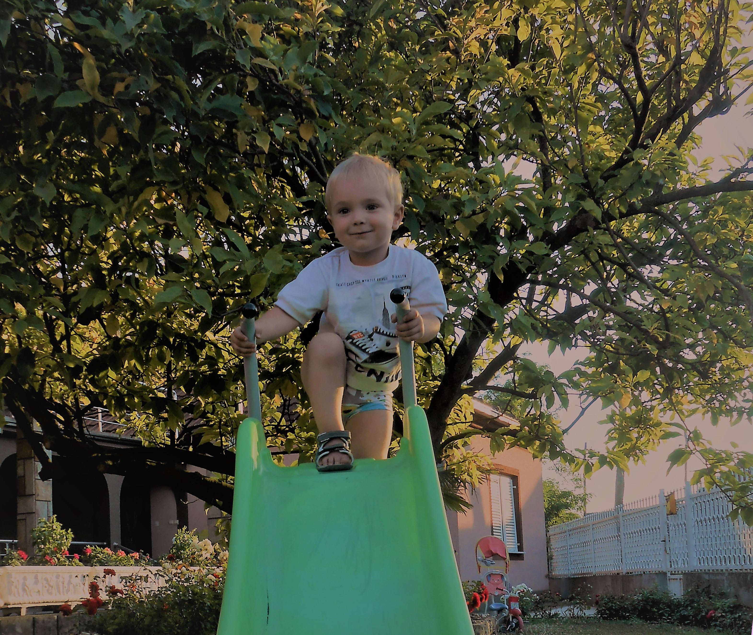 toddler's motoric activities
