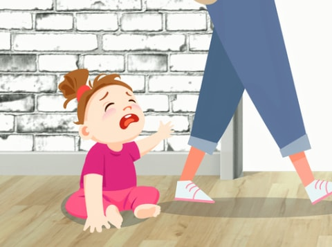 separation anxiety in kids