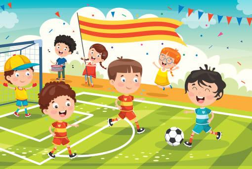 Children Football Players