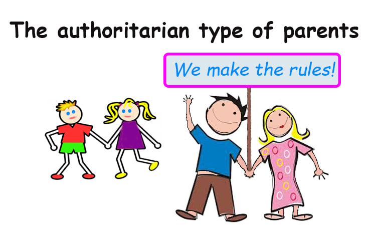 authoritarian parent as one of 3 types