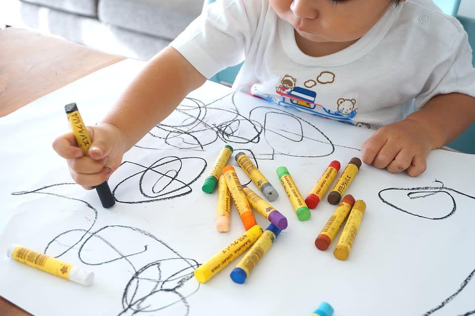toddler's art development