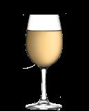 Glas Alkoholfritt Vitt Vin