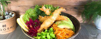 Poké Bowl - Panko Shrimps