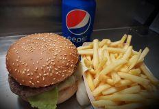 Hamburgermeny 90g