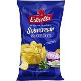 Sourcream & onion 275g Estrella