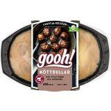 Köttbullar med potatismos & gräddsås 400g Gooh