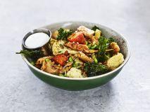 Oumph street salad