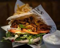 Vegansk Kebab i pita
