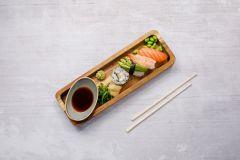 4 bitar sushi