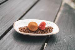 Härgjord chokladtryffel