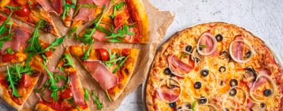 Två pizzor för en!