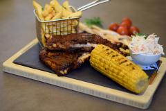 BBQ marinerad ribs