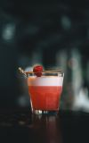Pink Gin Sour