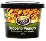Jalapeño nötter
