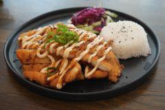 22. Chicken Katsu