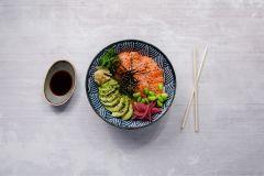 20. Poké Bowl (sushi i skål)