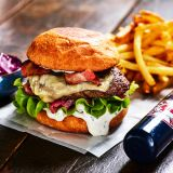 Truffel Oozing Burger