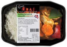 Kyckling thai curry