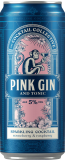 Pink Gin & tonic cocktail collective