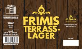 Frimis Terrass-Lager av Örebro Brygghus