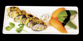 6 - Nigri med friterad Maki